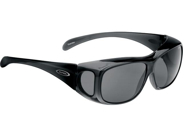 b10d5452bda5 Alpina Overview-solbrille Cykelbriller sort